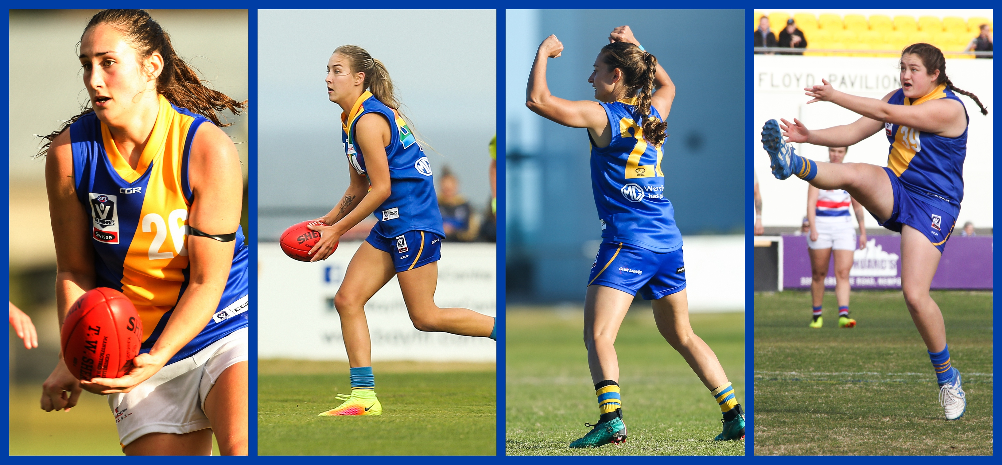 Four key players sign for 2019 - Williamstown Football Club