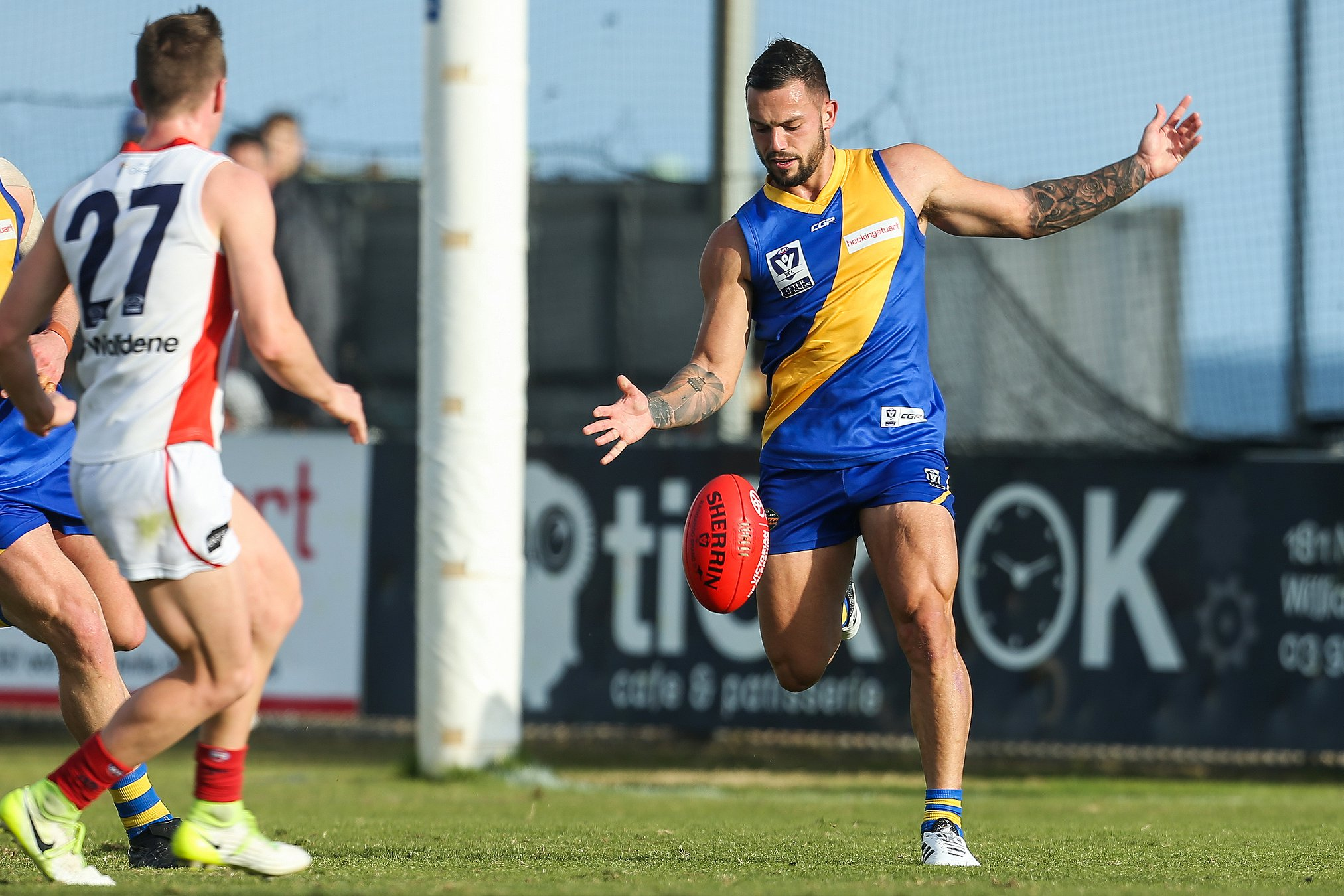 875a886d13b Williamstown Football Club can announce the re-signing of Jake Greiser and  Jack Dorgan ahead of the 2019 season. Grieser had a terrific 2018 season ...