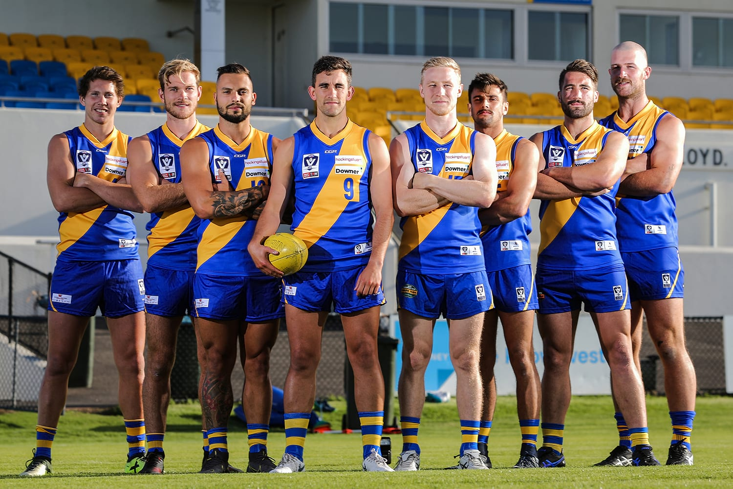 9aff927aa3f Williamstown announce leadership group for 2019. Williamstown Football Club  ...